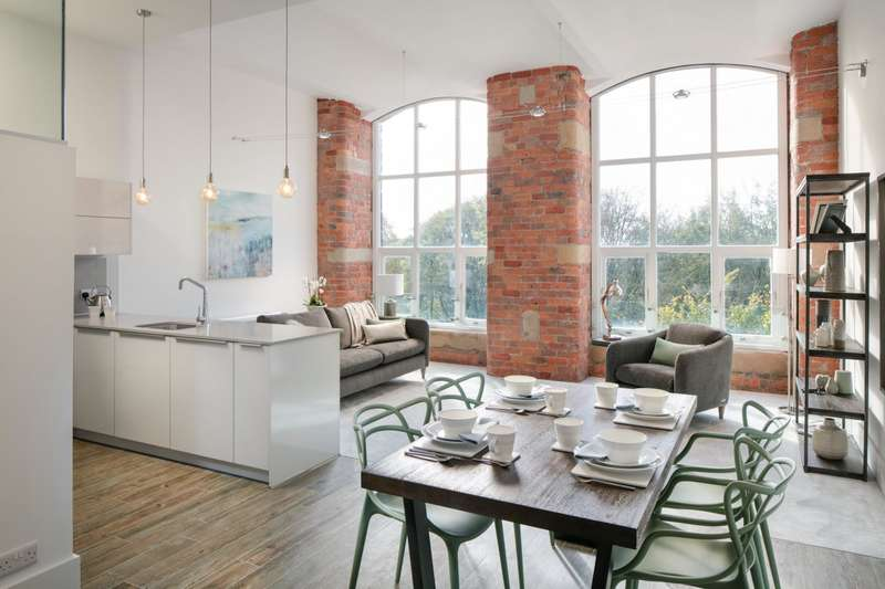 2 Bedrooms Apartment Flat for sale in At Clarence Mill, Bollington, Macclesfield