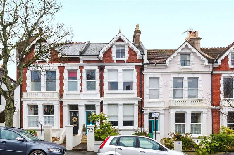 4 Bedrooms Terraced House for sale in Florence Road, Brighton, East Sussex, BN1