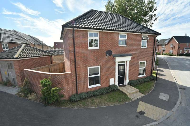 4 Bedrooms Detached House for sale in Harvester Lane, Beck Row, Bury St. Edmunds
