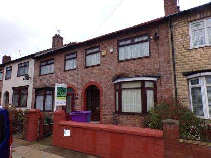 3 Bedrooms Terraced House for sale in Dovercliffe Road, Liverpool, Merseyside, England, L13