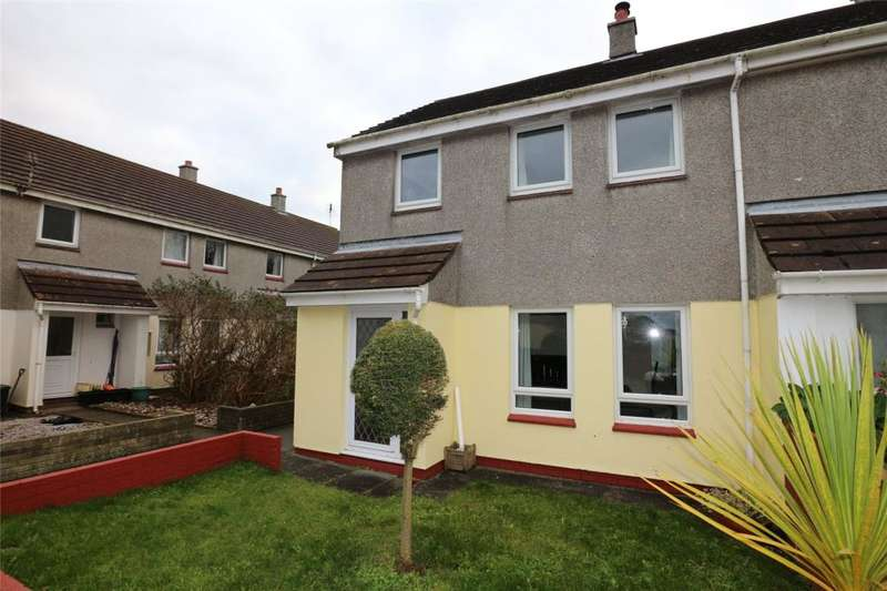 3 Bedrooms End Of Terrace House for sale in Chancery Close, St Erme, Truro