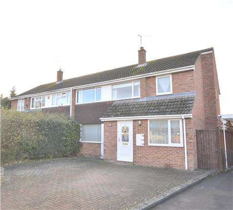 4 Bedrooms Semi Detached House for sale in Montgomery Road, CHELTENHAM, Gloucestershire, GL51 3LB