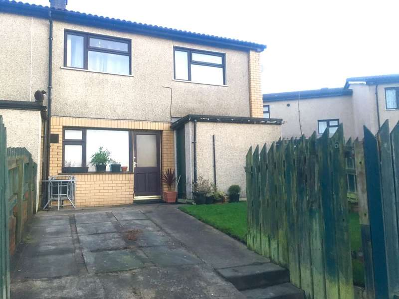 2 Bedrooms End Of Terrace House for sale in Burns Close, Machen, CAERPHILLY