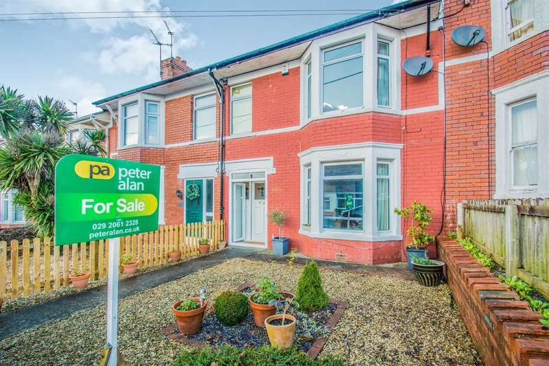 4 Bedrooms Terraced House for sale in Cottrell Road, Whitchurch, Cardiff