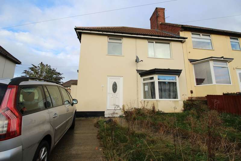 3 Bedrooms Semi Detached House for sale in Mond Crescent, Billingham, TS23