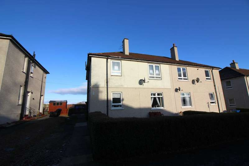 2 Bedrooms Flat for sale in Old Avenue, Auchinleck