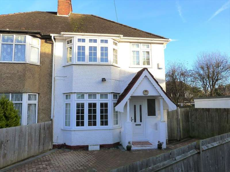 3 Bedrooms Semi Detached House for sale in Cromer Close, Hillingdon, UB8 3DA