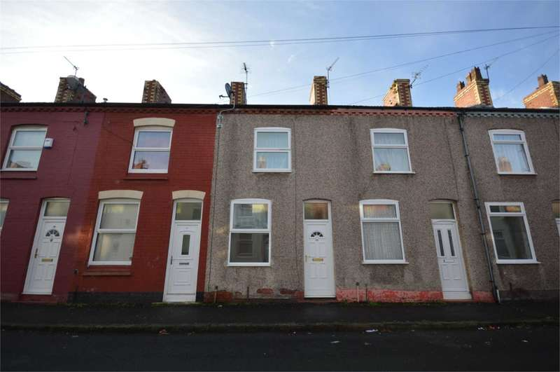 2 Bedrooms Terraced House for sale in Napier Road, New Ferry