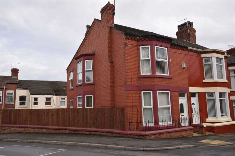 3 Bedrooms End Of Terrace House for sale in Jessamine Road, Tranmere