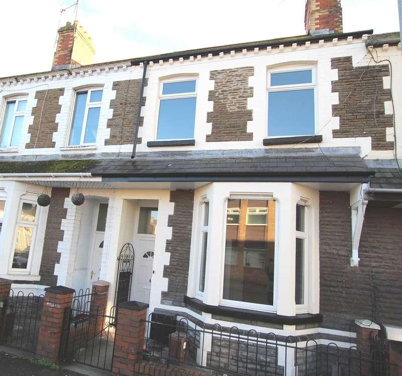 4 Bedrooms Terraced House for sale in Walker Road, Splott