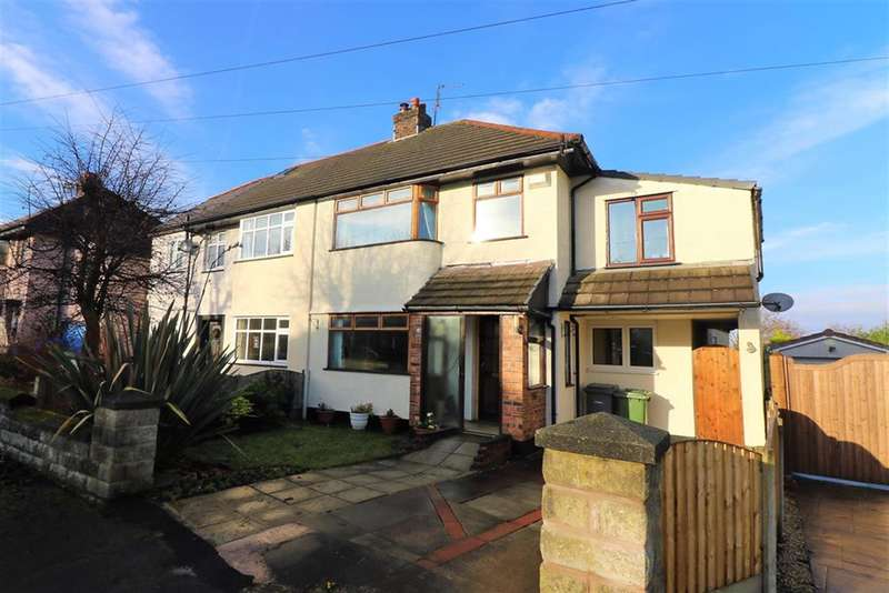 4 Bedrooms Semi Detached House for sale in Loomsway, Wirral, CH61 4UD