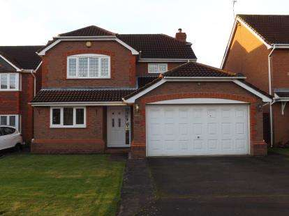4 Bedrooms Detached House for sale in Brockhole Close, West Bridgford, Nottingham, Nottinghamshire