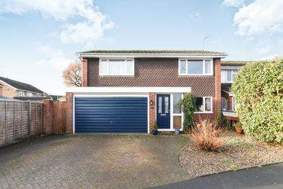 4 Bedrooms Detached House for sale in Westfield Road, Fernhill Heath, Worcester, Worcestershire