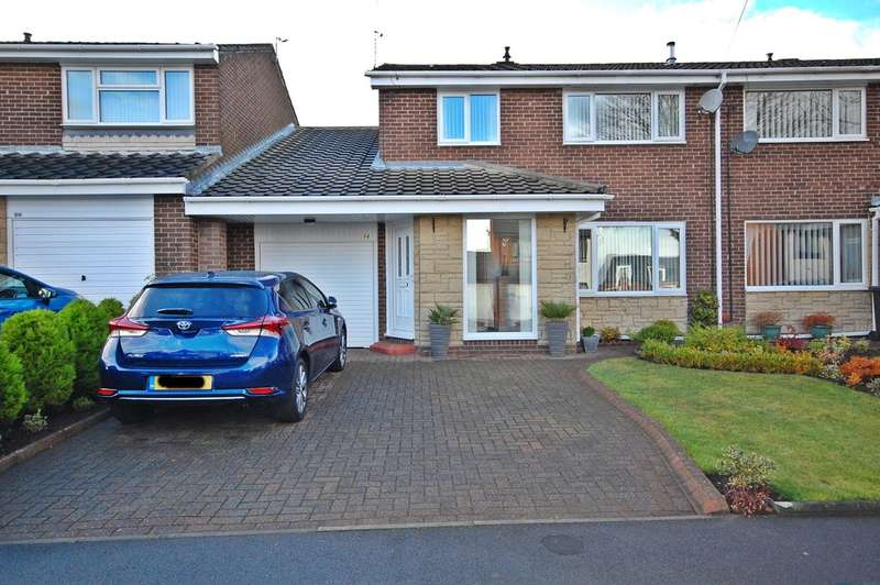 4 Bedrooms Semi Detached House for sale in Canterbury Road, Newton Hall, Durham