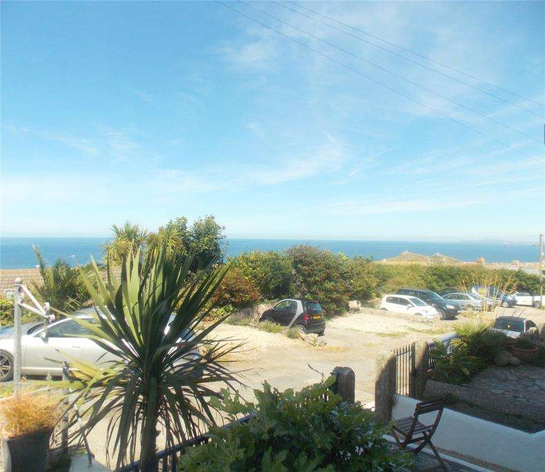 1 Bedroom Flat for sale in Carthew Terrace, St Ives, Cornwall