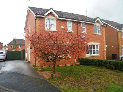 3 Bedrooms Semi Detached House for sale in Baker Close, The Parks, Crewe, Cheshire