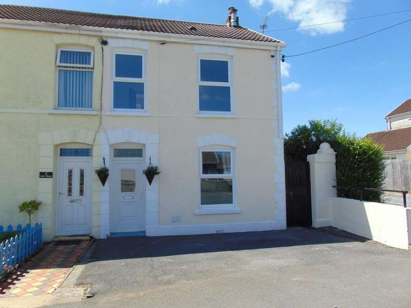 2 Bedrooms Semi Detached House for sale in Ael Y Bryn, Carway