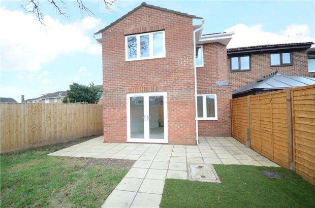 3 Bedrooms End Of Terrace House for sale in Avocet Crescent, College Town, Sandhurst