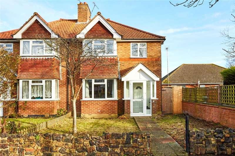 3 Bedrooms Semi Detached House for sale in London Road, Dunton Green, Sevenoaks, Kent, TN13
