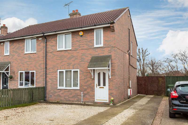 3 Bedrooms Semi Detached House for sale in Pinewood Drive, Camblesforth, Selby, YO8