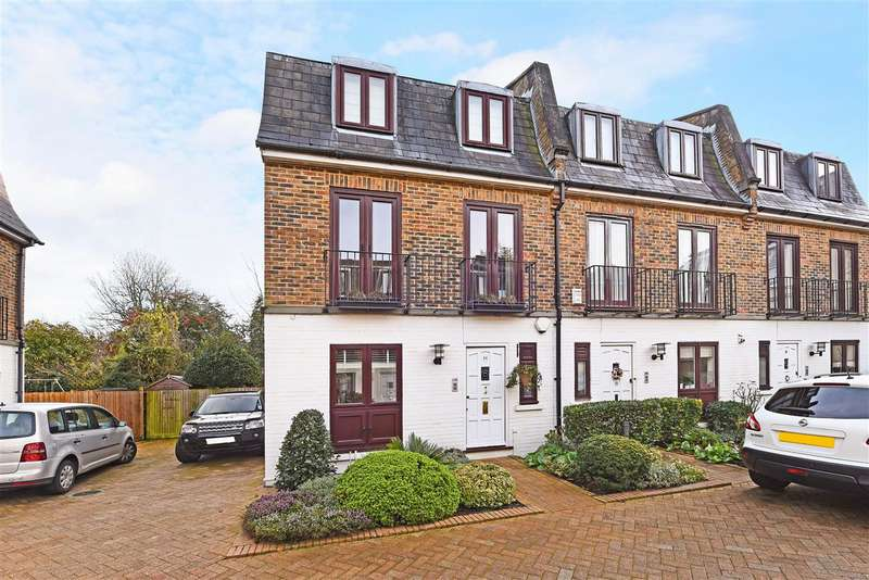4 Bedrooms End Of Terrace House for sale in Parkland Gardens, Wimbledon