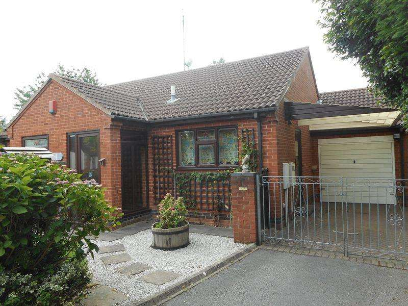 2 Bedrooms Detached Bungalow for sale in The Maltings, off Oaston Road, Nuneaton