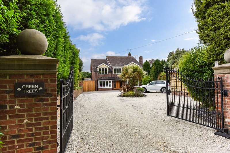 4 Bedrooms Detached House for sale in HOAD'S HILL, WICKHAM