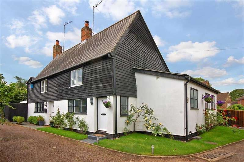2 Bedrooms Semi Detached House for sale in Stevenage Road, Little Wymondley, Herts