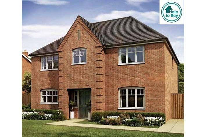 4 Bedrooms Detached House for sale in The Whitwick at Spring Meadows, Stonebow Road, Worcester