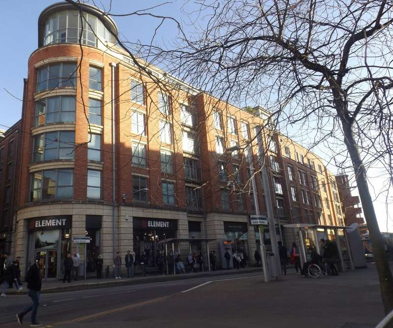2 Bedrooms Apartment Flat for sale in Adams Walk, One Fletcher Gate, Lace Market NG1