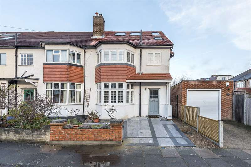 4 Bedrooms Semi Detached House for sale in Cross Deep Gardens, Twickenham, TW1