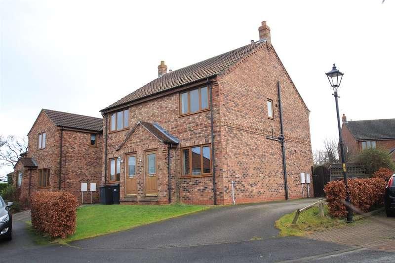 2 Bedrooms Semi Detached House for sale in Ashbourne Close, Boroughbridge, York,