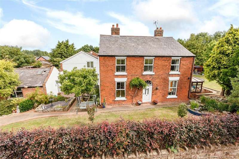 4 Bedrooms Detached House for sale in Moor Lane, Hapsford, Frodsham