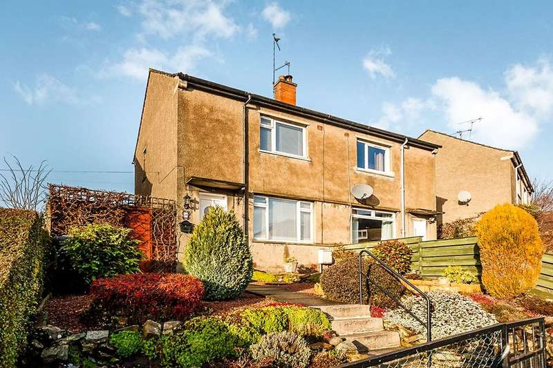 2 Bedrooms Semi Detached House for sale in Vogrie Crescent South, GOREBRIDGE, EH23