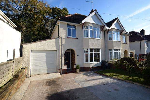 3 Bedrooms Semi Detached House for sale in Occombe Valley Road, Preston, Paignton, Devon