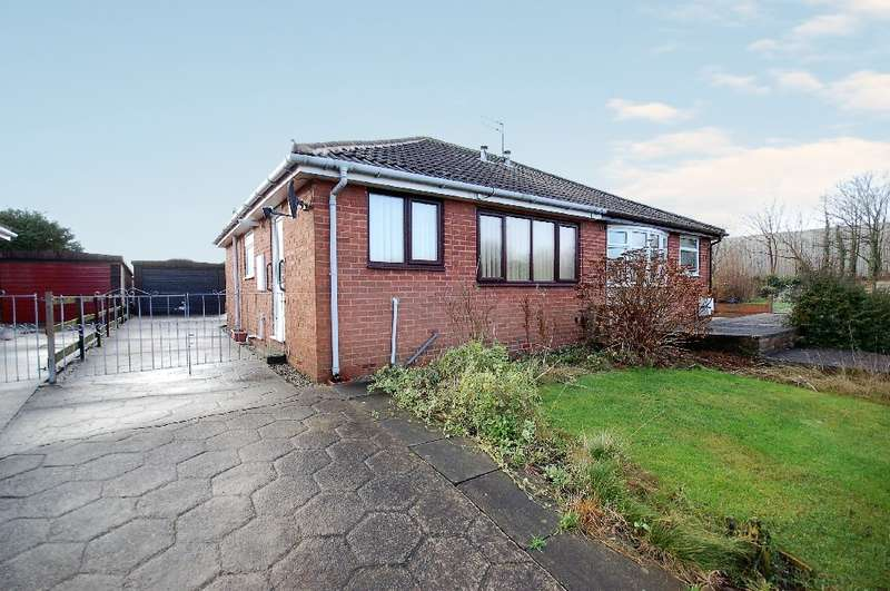 2 Bedrooms Semi Detached Bungalow for sale in Wasdale Road, Blackpool