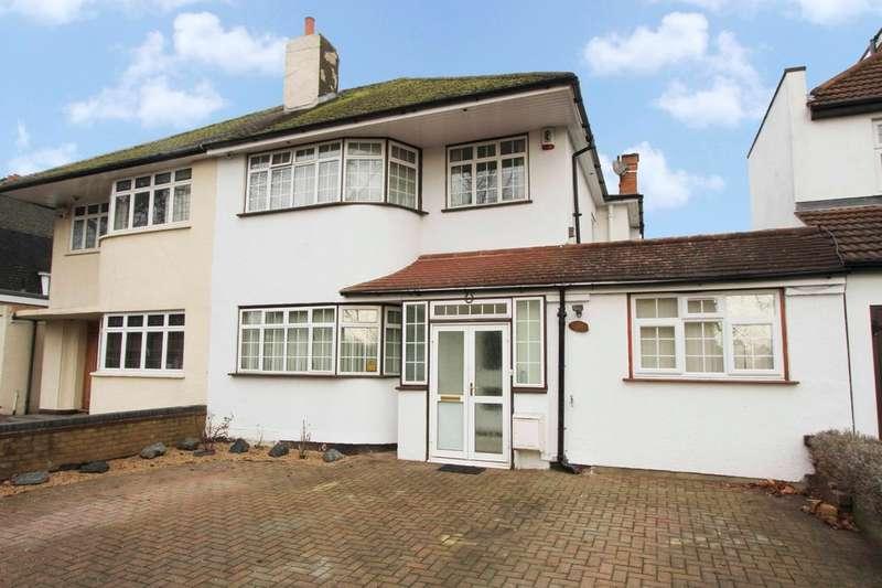 4 Bedrooms Semi Detached House for sale in Uxbridge Road, Pinner