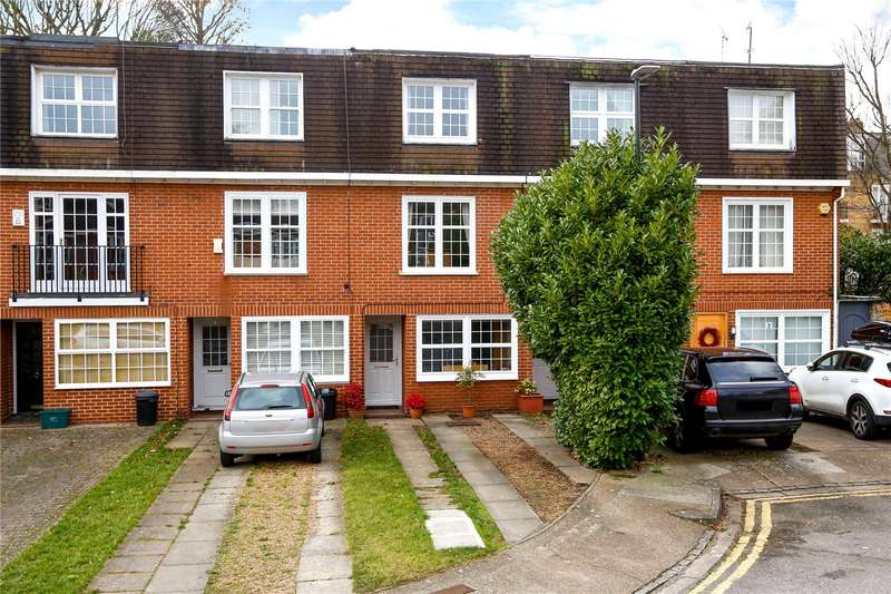 4 Bedrooms Terraced House for sale in Thaxted Place, London, SW20