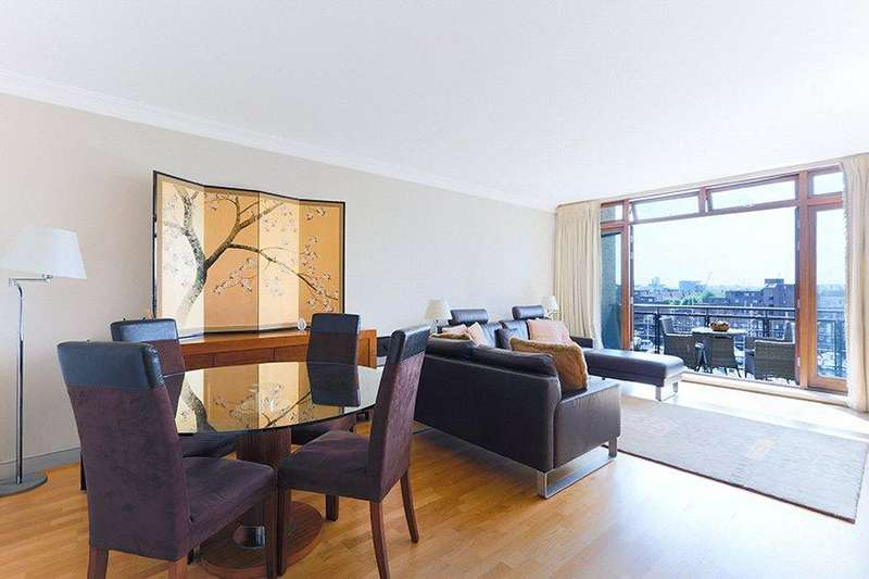 2 Bedrooms Flat for sale in Osprey Court, Star Place, London, E1W