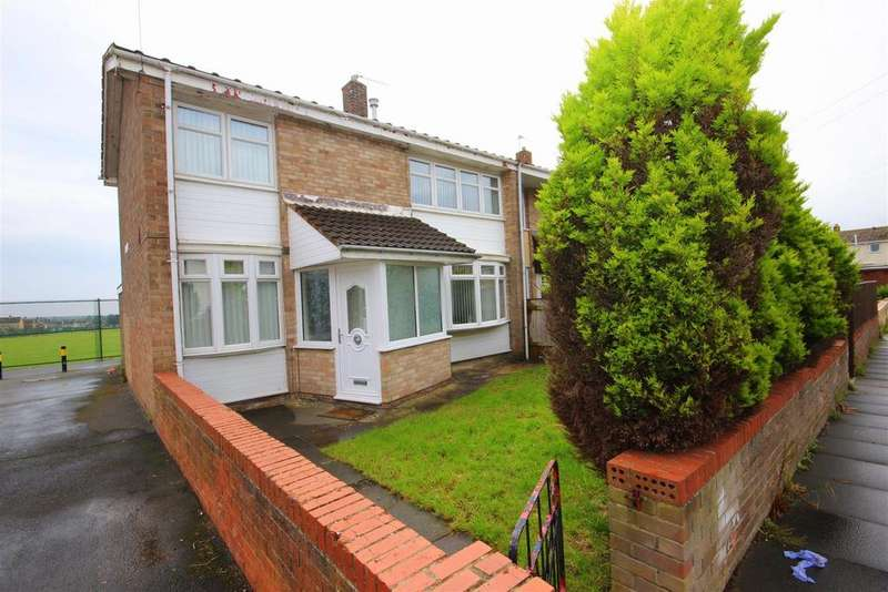 3 Bedrooms End Of Terrace House for sale in Turner Walk, Hartlepool