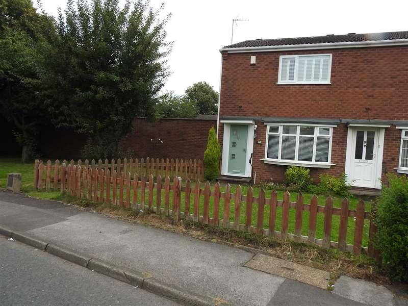 2 Bedrooms Semi Detached House for sale in Shortwood Avenue, Hucknall, Nottingham