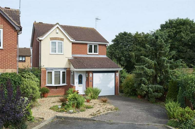 3 Bedrooms Detached House for sale in Medway Close, Markewt Harborough, Leicestershire