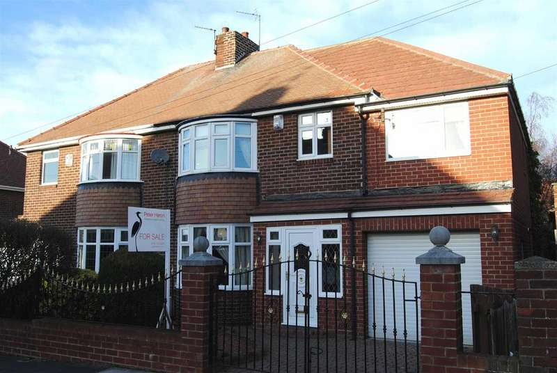 4 Bedrooms Semi Detached House for sale in Ludlow Road, Sunderland