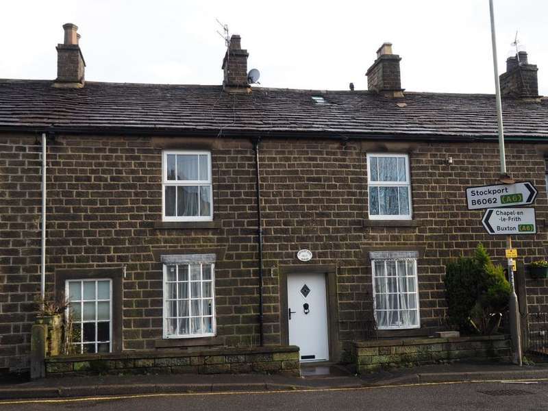 3 Bedrooms Terraced House for sale in Green Lane, Chinley, High Peak, Derbyshire, SK23 6BA