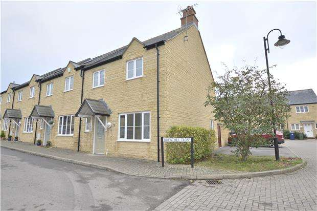 3 Bedrooms End Of Terrace House for sale in Breaches Close, Woodmancote, GL52 9HY