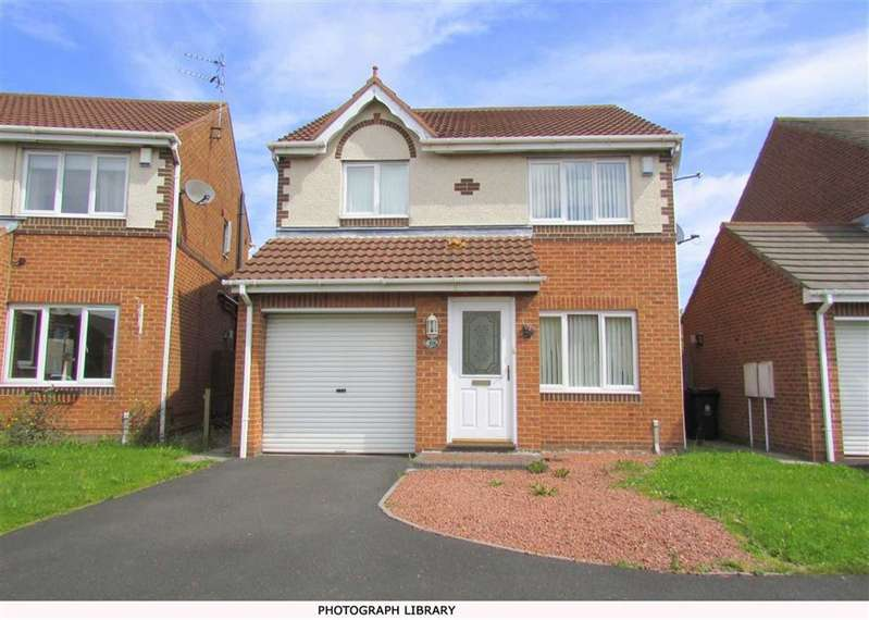 3 Bedrooms Detached House for sale in Holyfields, West Allotment, Tyne And Wear, NE27