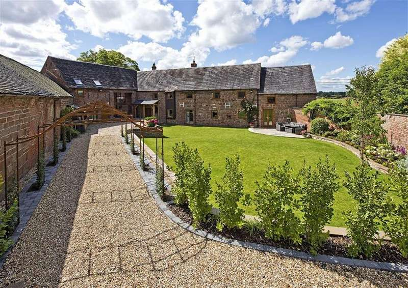 7 Bedrooms Detached House for sale in Hall Barn And The Drift House, Sambrook, Newport, Shropshire, TF10