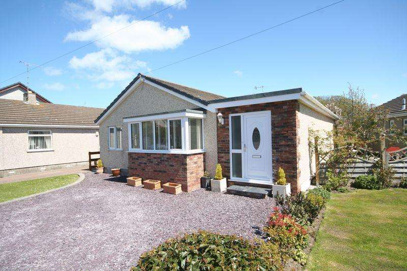 4 Bedrooms Detached Bungalow for sale in Holyhead, Anglesey
