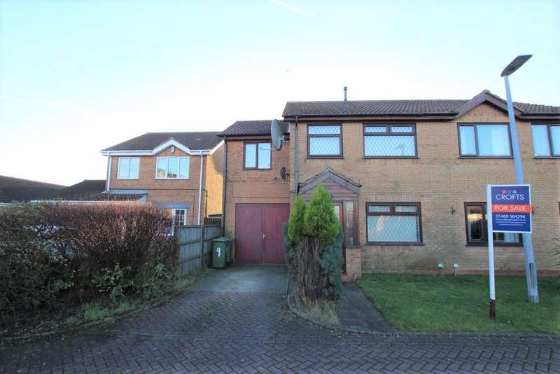 4 Bedrooms Semi Detached House for sale in SUNNINGDALE DRIVE, IMMINGHAM