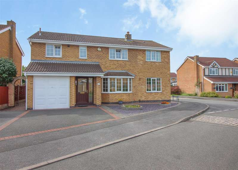 5 Bedrooms Detached House for sale in Rothbury Avenue, Trowell, Nottingham